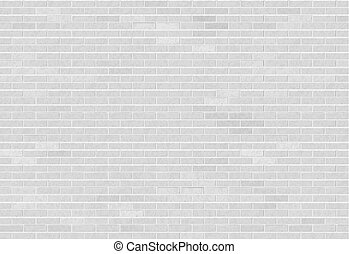 White brick wall. Industrial construction textured...