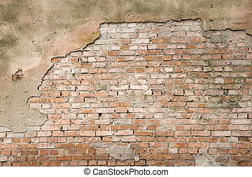 brick wall - White brick wall for background or texture