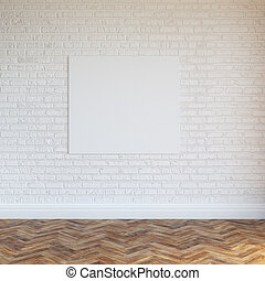 White Brick Wall Interior Design