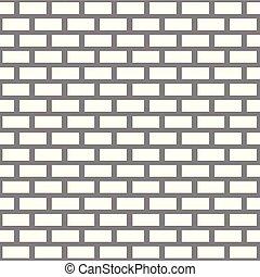White brick wall pattern seamless