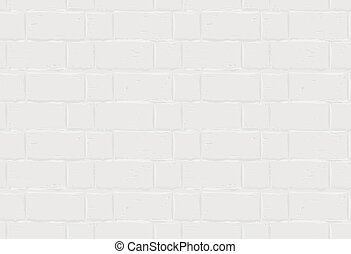 White brick wall. Seamless texture