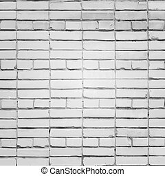 White brick wall vector background