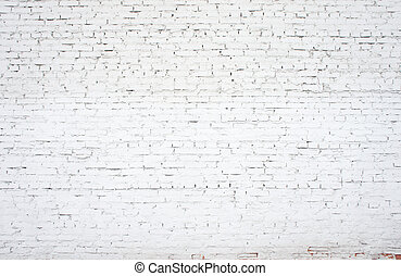 white  brick wall - white old brickwork closeup, backgrounds