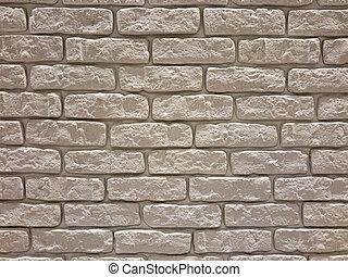 White Bricks Wall