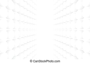 White Bubble Texture Abstract Background