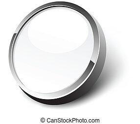White button.