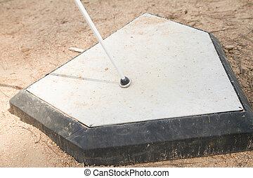 White Cane on Home Base