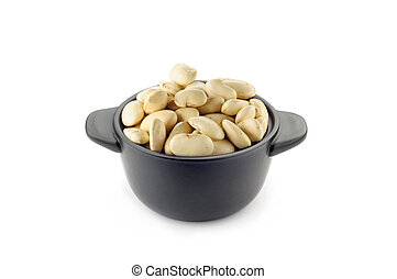 "White ""Cannellini"" Beans in A Cup"