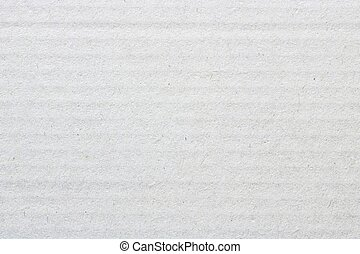 White cardboard texture, paper box background.