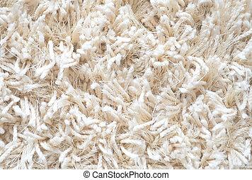 white carpet background. white carpet. fluffy textile texture. clean background. high. carpet background