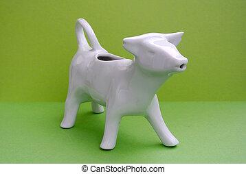 ceramic cow for milk