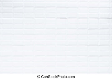 Pattern of white ceramic tile in bartroom wall, Texture and background