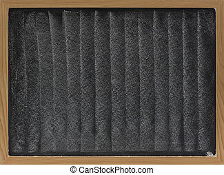 white chalk texture on blackboard