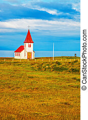 White Chapel in Iceland