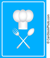 white chef's hat icon