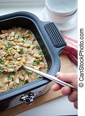 White Chicken Chili in Slow Cooker - White chicken chili is...
