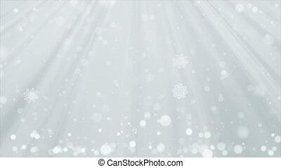White Christmas Background.