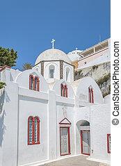 White Church at Fira