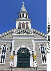 white church stowe vermont