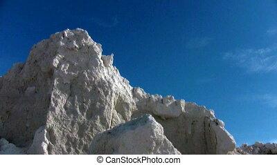 White clay mining