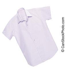 white clean shirt.