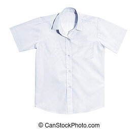 white clean shirt.