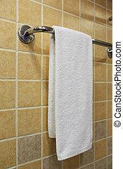 towel on the rack