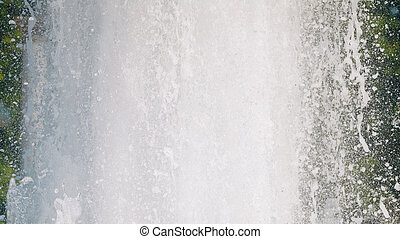 White clear water splashes background texture