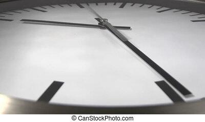 White clock - time lapse
