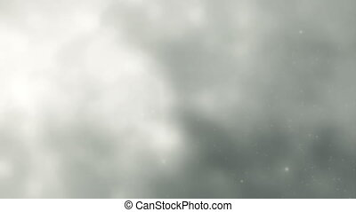 White Clouds, Lightning Slow Motion