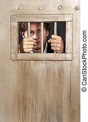 White collar criminal - A white collar criminal imprisoned...
