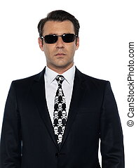 white collar criminal man portrait