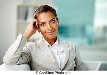 White collar worker - Portrait of successful white collar...