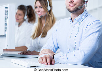 White collar workers - Picture of white collar workers in...
