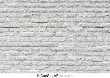 The white brick wall background