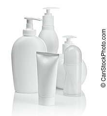 white composition for skin care