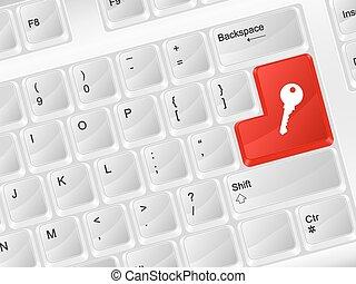 computer keyboard key symbol