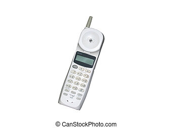 Cordless Phone - White Cordless Phone