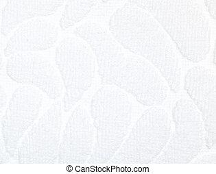 White cotton background texture.