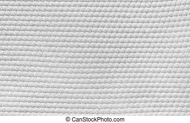 white cotton cloth texture with diamond pattern