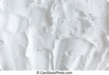 White creamy foam airy abstract texture background