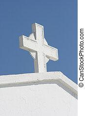 white cross