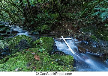 White Cross Stream