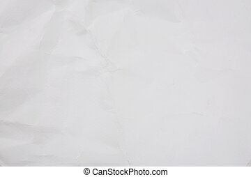 White crumpled watercolor paper background