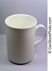 White Cup - White cup in white background