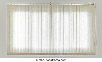 White Curtain and Window