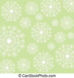 White Dandelion plant design - White dandelion icon. Summer...