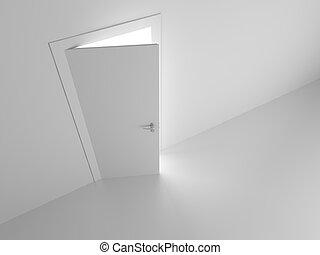 door into dream - white door into dream