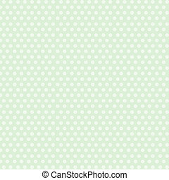 White dots background - Beautiful white dots on green...