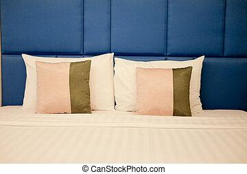 White down pillows